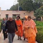 Visit of Sri Tathagata Roy